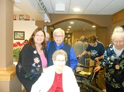 Primrose Retirement Community Donates Art Supplies